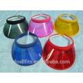 Plástico y customzied visera dom cap buena calidad hecha en China