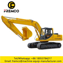 Crawler Excavator With Jackhammer