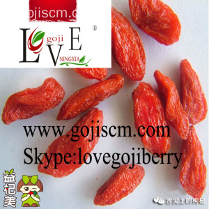 Low Pesticide Goji Berry - 180 dimensioni