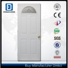 Fangda Exterior Door Slab, Arch Glass Steel Door