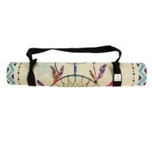Yugland ECO friendly Non Slip Hot Selling Fitness Natural Rubber Jute Yoga mats for yoga