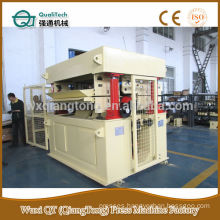 HPL back sanding machine/ wide belt three head sanding machine