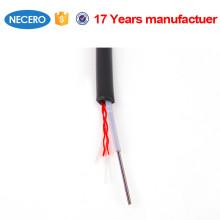 Cable de fibra de 12 hilos JET para telecomunicaciones.