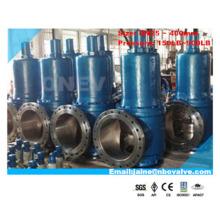 """Soupape de sécurité de décharge RF API / DIN de grande taille de gaz eau-huile RF (A42H-16 """")"""