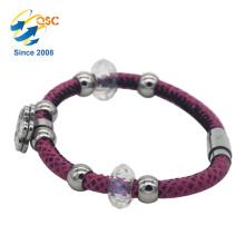 Bracelet en acier inoxydable unique sexy femmes Designs nouveau style Organisateur en gros bon marché