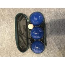 Blue Spraying Boules Set in Nylontasche