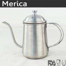 Chaleira de café de aço inoxidável 500ml