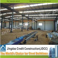 Planta de fábrica de taller de estructura de acero ligero