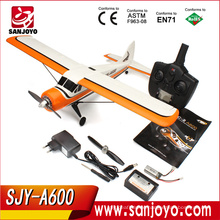 5 channel 3D6G System RC Model Airplane with Brushless 6-axis gyro 2.4GHz XK DHC-2 RC Fighter Compatible Futaba SJY-A600