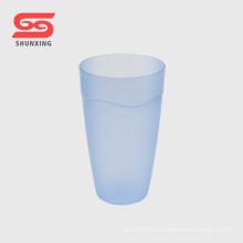 Али горячая распродажа Цвет матовый пользовательские пластиковые стаканчики для питья