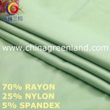 Rayon Nylon Spandex tecido para vestuário têxtil (GLLML457)