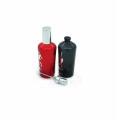 Kosmetikverpackungen schwarze Männer / rote Frauen 50ml ausgefallene Glasparfüm Sprühflasche