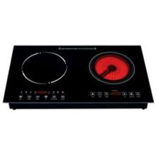 Cocina de inducción comercial profesional de 2 hornillas