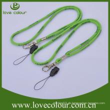 Fashion Lanyard benutzerdefinierte gewebt Lanyard mit Telefon String