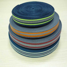 polyester high visibility high qulity reflective webbing