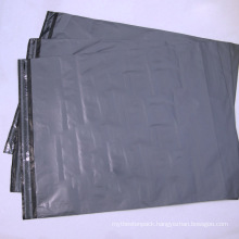 Customized Grey Poly Plastic Bag