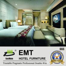 Hochwertiges Massivholz Modernes Designtwin Bett (EMT-A204B)