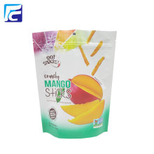 Sachet de fruits secs en plastique Mylar refermable