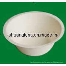 Zuckerrohr-Papier-Zellstoff-Muschel-Schüssel / Platte
