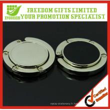 Crochet de sac en métal de conception adaptée aux besoins du client de promotion de cadeau