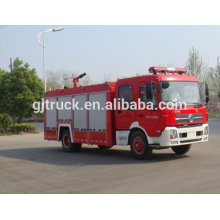 Dongfeng 4 * 2 unidad Water Fire truck para 2-14 metros cúbicos