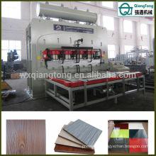 Laminoir en mélamine MDF Machine à bois PB Presse à chaud