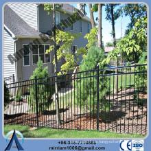 Höhe 1800mm oder 2100mm Schmiedeeisen Zaun Preis