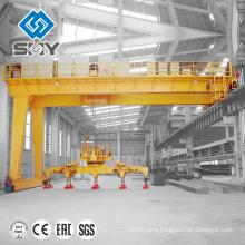 Yuntian !!! hydraulic Semi Gantry Crane with Lifting Hoist