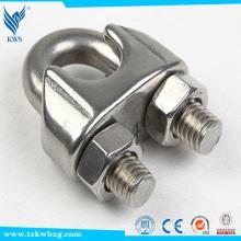 AISI M16 316 braçadeiras de aço inoxidável de amostra livre usadas em equipamentos elétricos