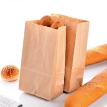 Recyclable kraft paper bag