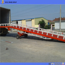 12ton truck load container dock ramp