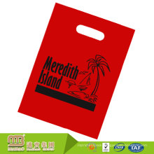 High quality heacy duty custom logo printed durable degradable ldpe plastic flat bag