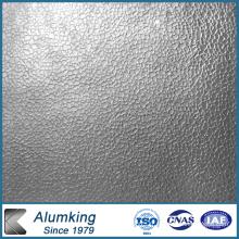 Plaque en aluminium gaufré pour électricité