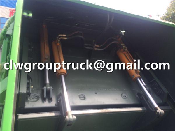 Hydraulic Garbage Compactor Truck