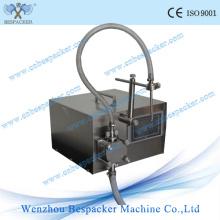 Máquina de llenado de jugo pequeño de bomba de engranajes eléctricos