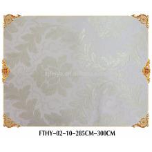 Revêtement mural sans couture de papier peint de textile de Feitex, papier peint intérieur de haute qualité, papier peint de jacquard de haute qualité
