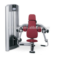 Fitness equipment dimensions Biceps machine