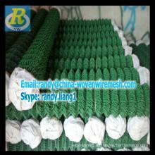 PVC Kettengliedzaun (1.8 / 2.2MM X 50X50MM x 1.8mx 30m)