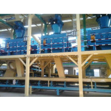 Dry Granulating complete equipment for formula fertilizers for MAP