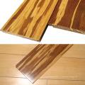 Сумка тигр из плетеного бамбука полы с матовым блеском
