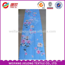 Orchids bloom printing 100 % cotton fabric for cotton bedding