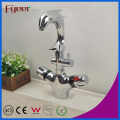 Fyeer Attractive Basin Water Tap Mixer Bathroom Dolphin Thermostatic Faucet