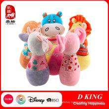 Baby Toy Bowling Stuffed Animal Bowling Plush Baby Toy Bowling
