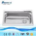 High quality stainless steel 304 single bowl folding kitchen sink