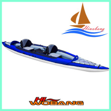 2015 nuevo kayak de canoa inflable, kayak de aguas bravas