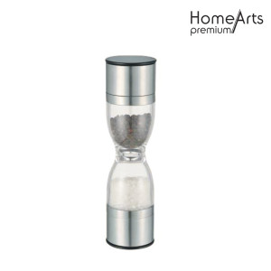 Hourglass-Shaped Hand Salt And Pepper Mill