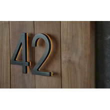 Indoor House Number Hotel Room Supermarket Metal Number
