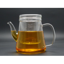 Mouth Blow 900ml Single Wall Glass Teapot