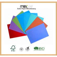 Tamanho 700 * 1000mm 110GSM Pastel Color Paper Papel de decoração para casa