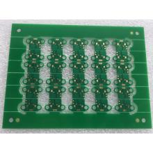 2 layer 0.8mm 1OZ Green Solder with ENIG PCB